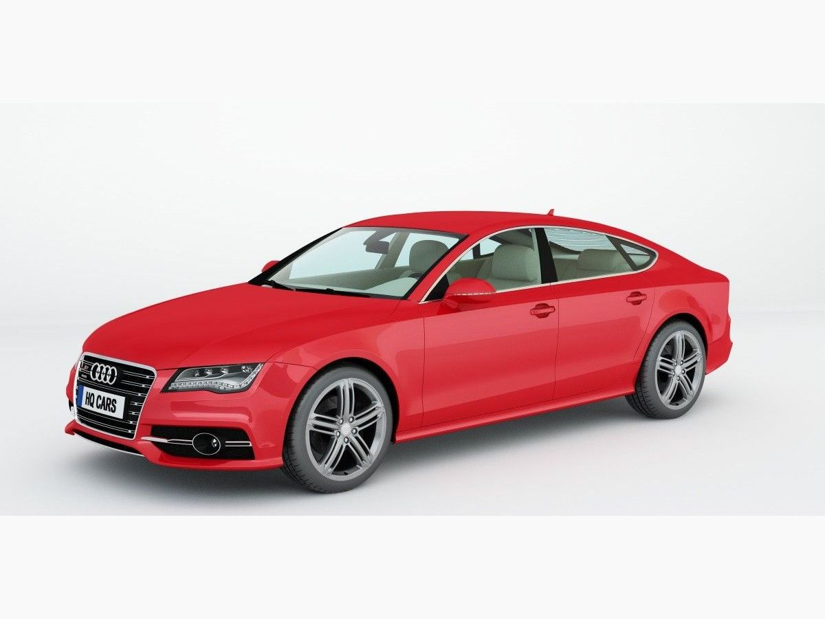 hq plants for cinema4d shop audi s7 sportback. Black Bedroom Furniture Sets. Home Design Ideas